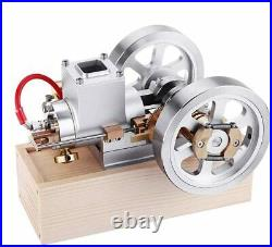 Yamix Horizontal Gas Engine Model with Hand Start Device, Metal Hit and Miss Eng